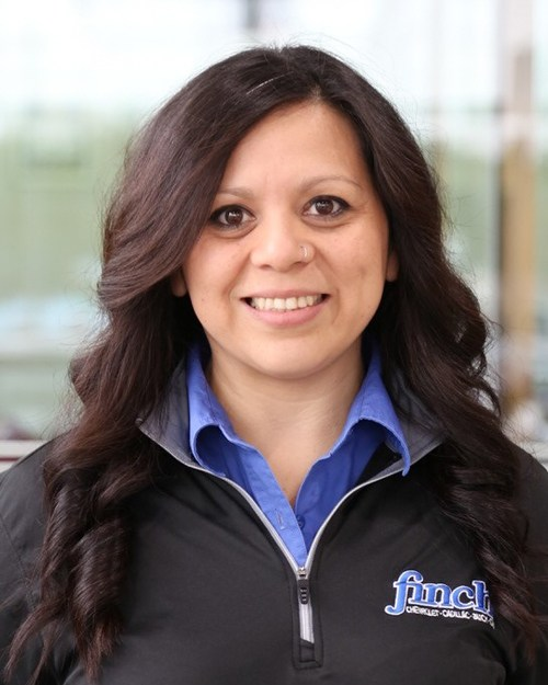 Enna Pinacho, Service Cashier at Finch Chevrolet Cadillac Buick GMC in London Ontario